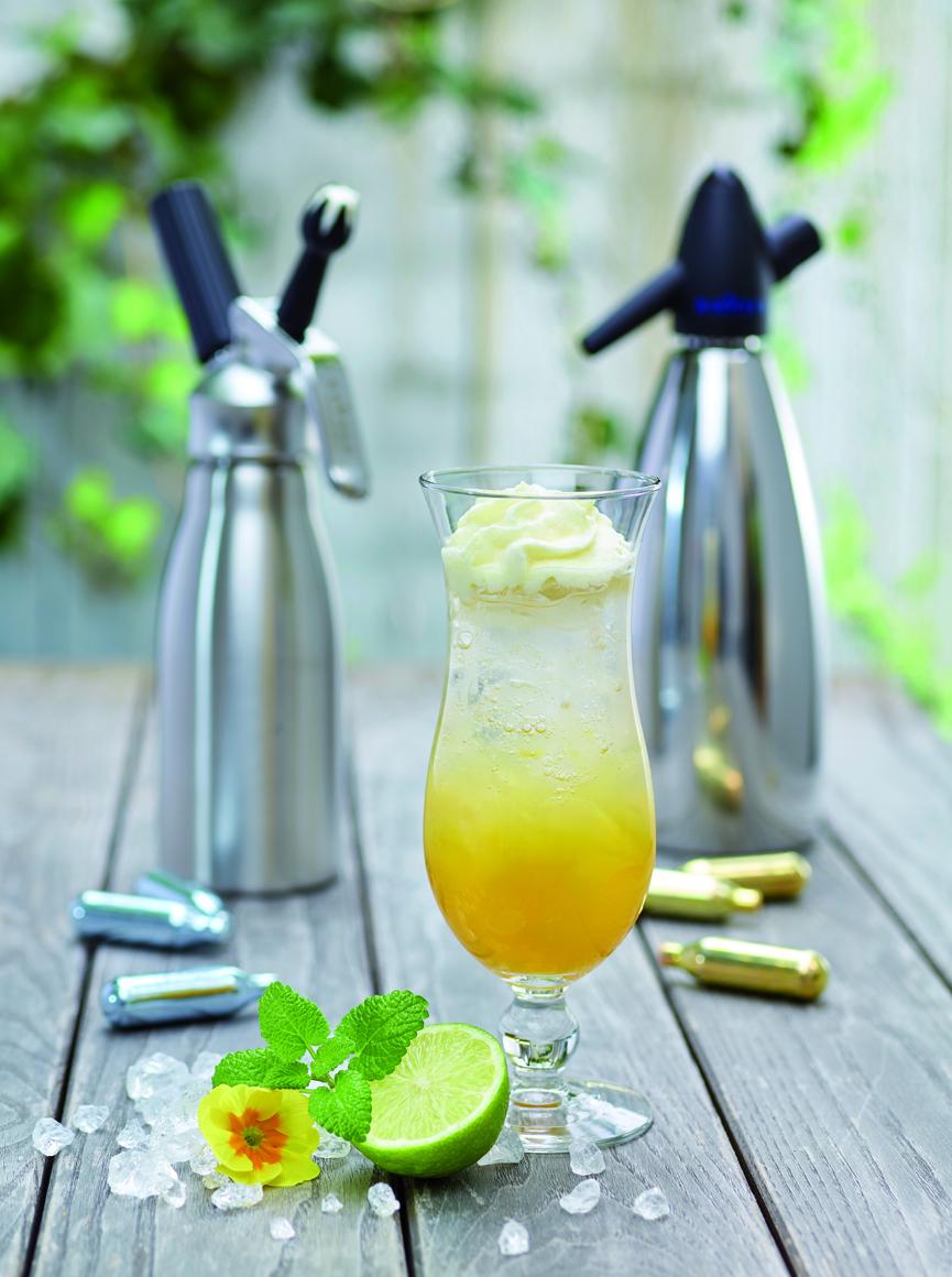 Mango Coconut Cocktail